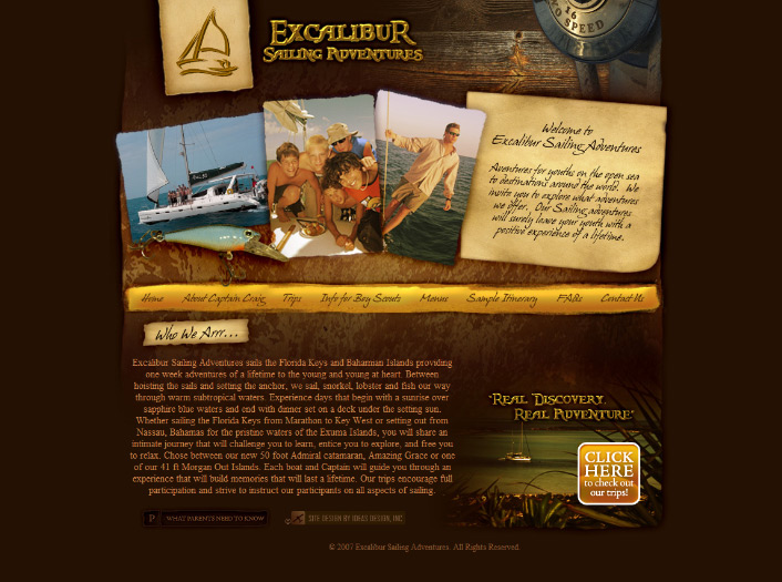 Excalibur Sailing Adventures